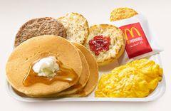 朝マック ハンバーガー